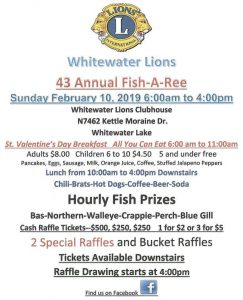 43rd Annual Lions Ice Fish-a-Ree @ Lions Club- Whitewater Lake | Whitewater | Wisconsin | United States